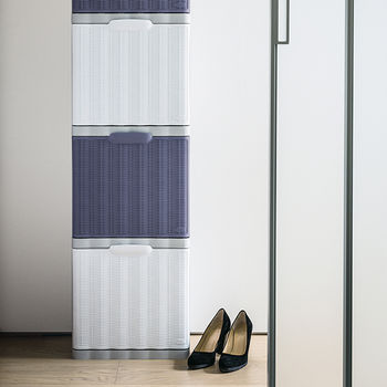 cumpără Dulap pentru pantofi Elegance 400x300x400 mm, violet în Chișinău