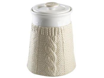 купить Емкость керамическая Pullover 900ml, цвет молочный в Кишинёве
