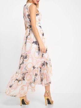 Платье ORSAY Бежевый с принтом