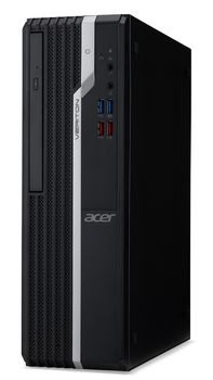 купить Acer Veriton X2660G SFF (DT.VQWME.023) Intel® Core® i3-8100 3.6 GHz, 8GB DDR4 RAM, 128GB SSD+1TB HDD, DVD-RW, Intel® UHD 630 Graphics, HDMI, DP, VGA, COM-port, 180W PSU, FreeDOS, USB KB/MS, Black, 3 Year Warranty в Кишинёве