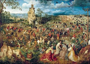 "10292 Trefl Puzzles - ""1000"" - Art Puzzles The Road to Calvary/ Trefl"