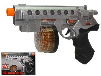 """Игрушка пистолет """"Super gun"""", 3XAA"""