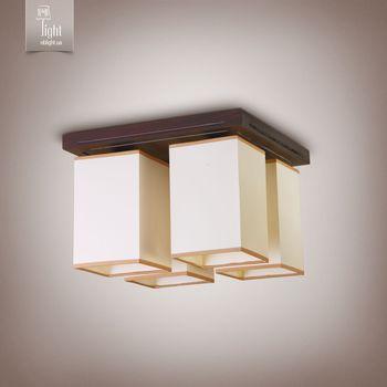 N&B Light Светильник Хьюстон 18822-1 венге глянец