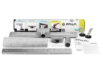 купить 75375 Сливная система Napo 400*70*70mm в Кишинёве
