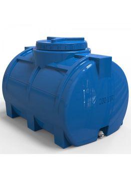 купить Емкость  250 л горизонтальная, овальная (синяя) + штуцер ½  105x67x72 (0,50m3) в Кишинёве