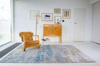 купить Ковёр ручной работы LOUIS DE POORTERE, Atlantic, Long Island Blue 8718 в Кишинёве