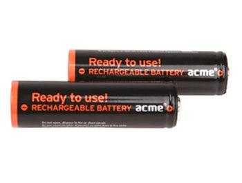 ACME Rechargable Batteries Ready to Use NiMh R06 (AA) 2600 mAh 2pcs