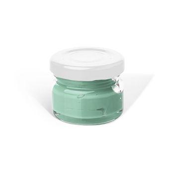 Паста пигментная (Бело зелёная ) для эпоксидной смолы  (20 г)