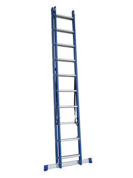 купить Двухсекционная диэлектрическая лестница (2x10ст) LZF2110 в Кишинёве