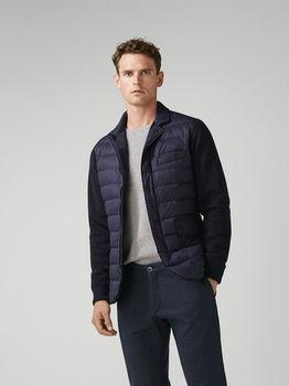 Куртка Massimo Dutti Темно синий massimo dutti 3406/080