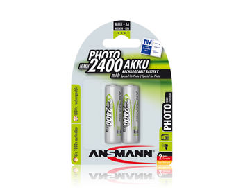 Ansmann AA NiMH 2400mAh, 2pack(blister)