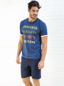 cumpără Pijama p-u barbati ENRICO COVERI EA2021 în Chișinău