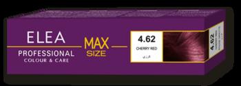 Краска для волос,SOLVEX Elea Max, 100 мл., 4.62 - Вишнево-красный