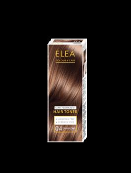 Balsam nuanțător, SOLVEX Elea Hair Toner, 100 ml., 04 - Cappuccino