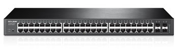 {u'ru': u'TP-LINK T1600G-52TS  48-port Pure-Gigabit L2 Managed Switch, 48 10/100/1000Mbps RJ45 ports including 4 combo SFP slots, Port/Tag/MAC/Voice/Protocol-based VLAN, GVRP, STP/RSTP/MSTP, IGMP V1/V2/V3 Snooping, L2/L3/L4Traffic Classification', u'ro': u'TP-LINK T1600G-52TS  48-port Pure-Gigabit L2 Managed Switch, 48 10/100/1000Mbps RJ45 ports including 4 combo SFP slots, Port/Tag/MAC/Voice/Protocol-based VLAN, GVRP, STP/RSTP/MSTP, IGMP V1/V2/V3 Snooping, L2/L3/L4Traffic Classification'}