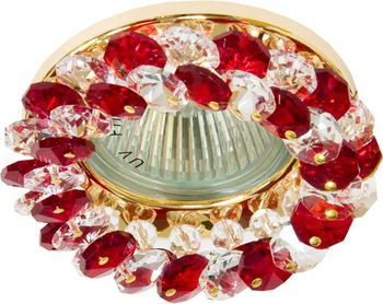 Feron Встраиваемый светильник CD 4141 MR-16 красный