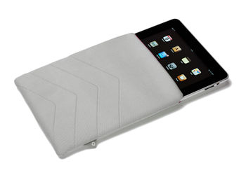 Dicota D30250 PadSkin #2 for iPad 2 and The New iPad, white, Neoprene sleeve (husa tableta/чехол для планшета)