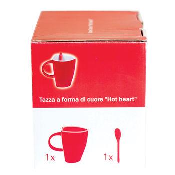 купить Керамическая кружка сердцевидной формы - Горячее сердце в Кишинёве