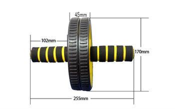 Ролик для пресса двойной с ковриком d=17 см (314)