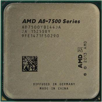 AMD A-Series X4 A8-7500 Socket FM2+, 3.0-3.7GHz, 4MB L2, Intergrated Radeon R7 series, 65W 28nm, tray