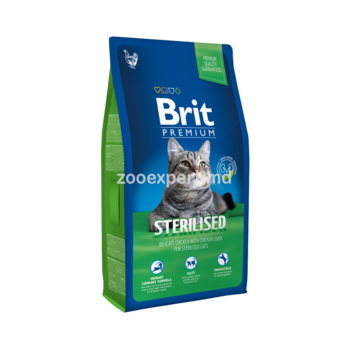 купить Brit Premium Cat Sterilised 1 kg в Кишинёве