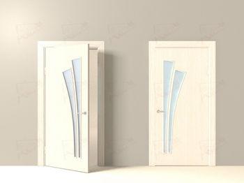 купить ЛР - 10 Беленый дуб с матовым стеклом 2.0м*0.7м в Кишинёве
