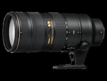 Nikon AF-S VR II Zoom-Nikkor 70-200mm f/2.8G IF-ED NANO, FX, filter: 77mm, JAA807DA (Obiectiv Nikon/ обьектив Nikon)