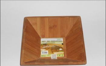 купить Ваза бамбуковая квадратная Kesper 52141 в Кишинёве