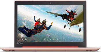 "Lenovo IdeaPad 320-15IAP Coral Red 15.6"" HD (Intel® Celeron® Dual Core N3350 up to 2.40GHz (Apollo Lake), 4GB DDR3 RAM, 1.0TB HDD, Intel® HD Graphics 620, w/o DVD, CardReader, WiFi-N/BT4.1, 0.3M WebCam, 2cell, RUS, DOS, 2.2kg)"