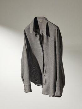 Блуза Massimo Dutti Серый 5107/570/802