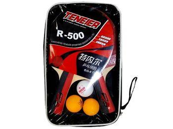 Набор для настольного тенниса (2 ракетки+3 шарика) R-500
