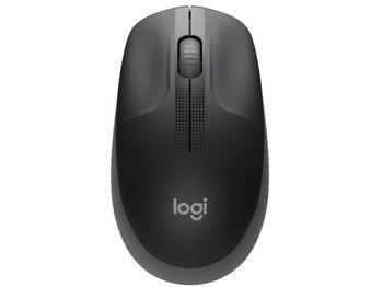 Wireless Mouse Logitech M190 Full-size, Black