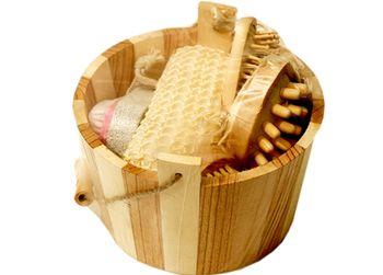 Набор-ведро для сауны круглое малое