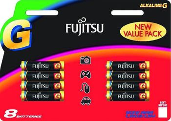 Fujitsu baterii Alkaline G   AAA FSB8