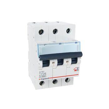 Legrand Автоматический выключатель TH3 C25A 3P 6000
