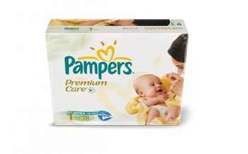 PAMPERS  PREMIUM CARE NEW BABY 1 (2-5 kг) (78 шт.)