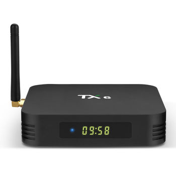 cumpără Tanix TX6-P Allwinner H6 2GB 16GB 2.4G WIFI Android 4K TV Box în Chișinău