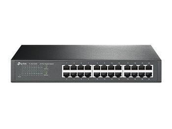 """TP-LINK TL-SG1024D, 24-port 10/100/1000Mbps Switch, 1U 13"""" Rack Mount, Metal Case"""