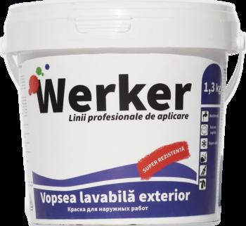 cumpără Vopsea lavabila exterior Werker 1,3 kg în Chișinău