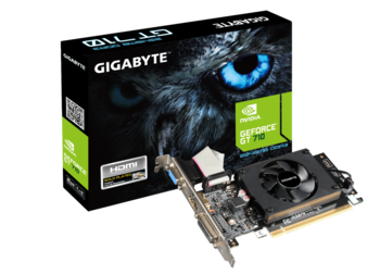 VGA Gigabyte GT710 2GB GDDR3 Low Profile