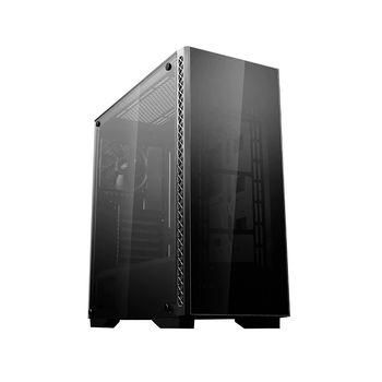 Case Middletower Deepcool MATREXX 50 ATX Black no PSU, Side & Front panel Tempered glass, 1xUSB3.0/2xUSB2.0/AudioHD x 1/Mic x 1 Pre-installed: 1x120mm fan (carcasa/корпус)