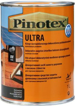 Pinotex Пропитка Pinotex Ultra Черная 1л