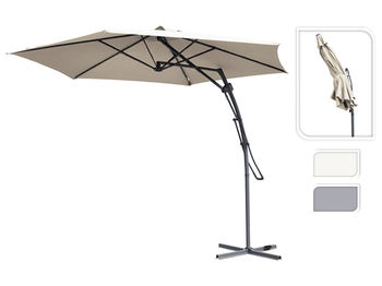 """Зонт для террасы D3.8m + """" Х""""-подставка (система push-up)"""