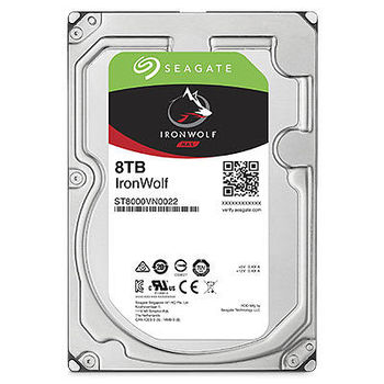 8.0TB  Seagate ST8000VN0022  IronWolf™ NAS, 7200rpm, 256MB, SATAIII