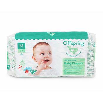 купить Органические подгузники Offspring M (6-10 kg) 42 шт в Кишинёве