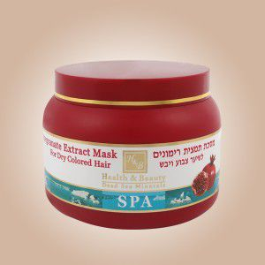 купить Health & Beauty Маска для волос с экстрактом Граната (250ml) (44.309) в Кишинёве