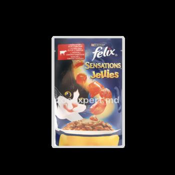 купить FELIX Sensation с говядиной и томатами, в желе в Кишинёве