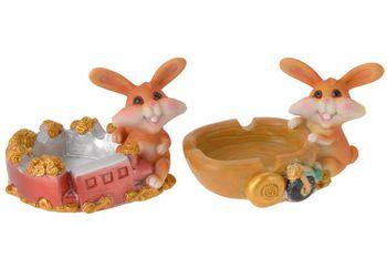 Пепельница Кролик, 10сm