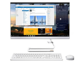 "Lenovo AIO IdeaCentre 3 24IMB0 White (23.8"" FHD WVA Pentium G6400T 3.4GHz, 8GB, 256GB, No OS)"