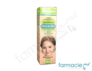 купить Rinobaby Kids pic. nazale, 0,25 mg/ml10 ml в Кишинёве